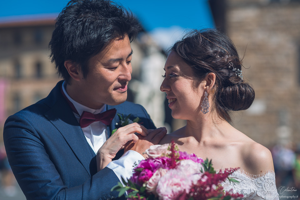 Japanese Wedding in Florence